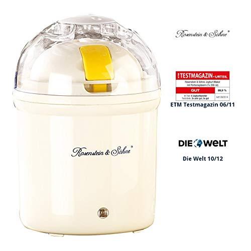 Rosenstein & Söhne Joghurtbereiter: Joghurt-Maker für 1 Liter frischen Joghurt