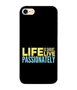 99Sublimation Designer Back Case Cover for Apple Iphone 8 (Best quotes design case best symbol and sign case )
