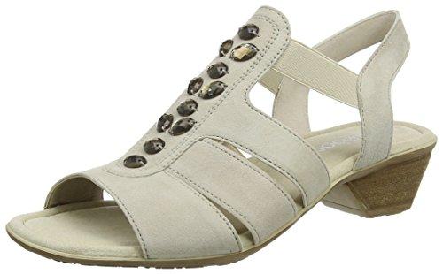 Gabor Fashion, Sandali con Zeppa Donna Beige (beige 12)