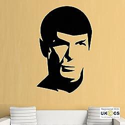 Star Trek Spock Séries TV Refroidir Wall Art Stickers Stickers vinyle Home Decor de porte Chambre Garsons Filles Enfants adultes Accueil Salon Cuisine Salle de bain Accessoires Citations Mural