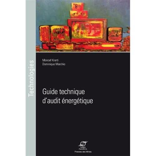 Guide technique d'audit énergétique