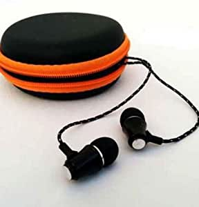 Nokia Asha 308 Compatible In-Ear Headphones / Headsets / Earphones / Handsfree With Mic, Calling, Music, 3.5mm Jack -(Color May Vary As Per Availability)