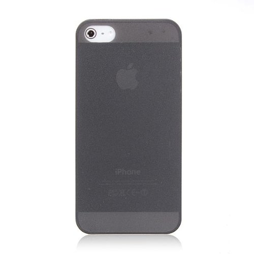 Case Ultra Thin Effacer Hard Cover Matte Pour iPhone 5 5S noir