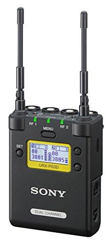 Sony UWP-D 2-Kanal Audio Funk-Empfänger für Digitalkameras oder Camcorder (Frequenzversion 42-48, 638 MHz bis 694 MHz)