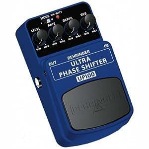 behringer ultra phase shifter up100 electric guitar effects chorus flanger phaser amazon. Black Bedroom Furniture Sets. Home Design Ideas