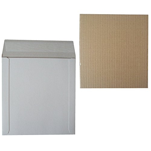 10-strong-12-lp-record-vinyl-peel-and-seal-white-board-mailers-envelopes-20-corrugated-cardboard-sti