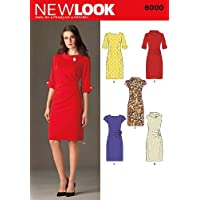 New Look - Cartamodello 6000 abiti donna,