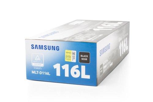 Preisvergleich Produktbild Original Toner passend für Samsung Xpress M 2870 FW Samsung 116L MLTD116L , MLT-D116L , MLTD116LELS - Premium Drucker-Kartusche - Schwarz - 3.000 Seiten