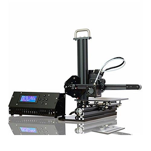 KKmoon Aluminium 3D Druker Machine, Selbstmontage Metall DIY Kit, Hohe Genauigkeit 150mm x 150mm Druckgröße mit LCD Bildschirm Unterstützen SD Karte, Off-line Druck, 1.75mm Filament