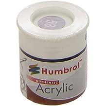 Humbrol - Pintura acrílico, color Gunmetal (Hornby AB0053)