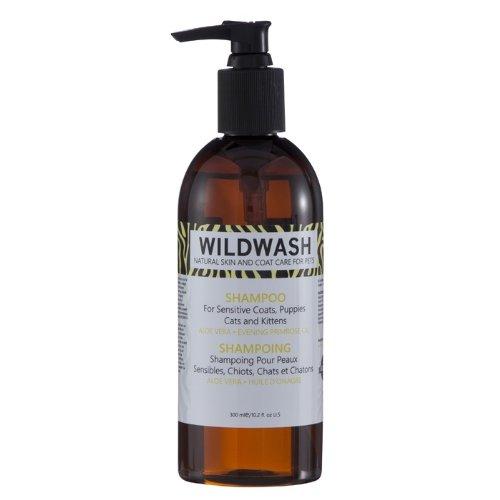 wildwash Haustier Hund Shampoo für empfindliche Mäntel, Welpen, Katzen und Kätzchen, 300ml - Ethische Produkte Cat