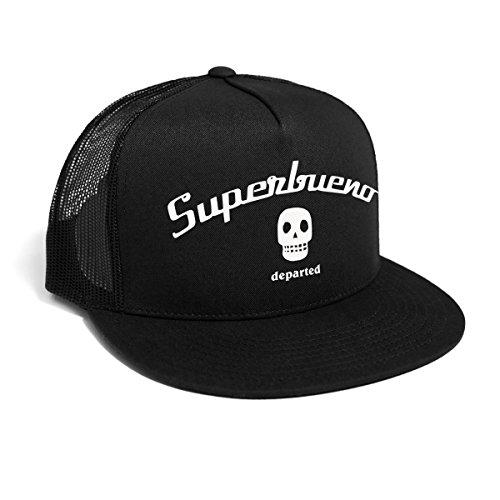 Trucker Hat mit Print/Aufdruck - Snapback Cap - No. 38, Black ()
