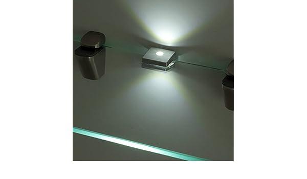 Luci led zeta s per illuminazione ripiani in vetro per vetrine