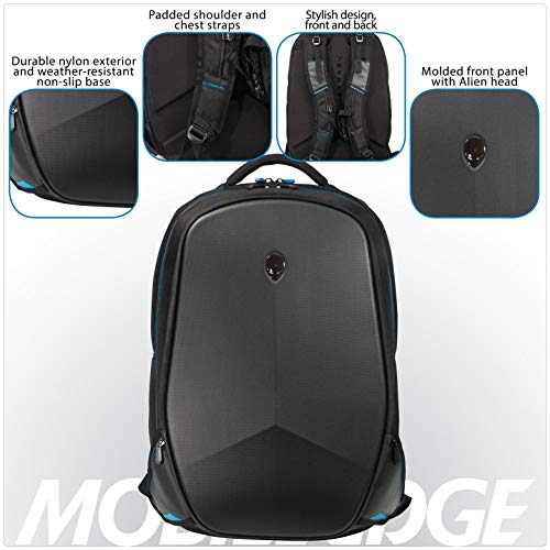 Mobile Edge Alienware 15 Inch Black Vindicator 2.0 Casual Backpack Image 3