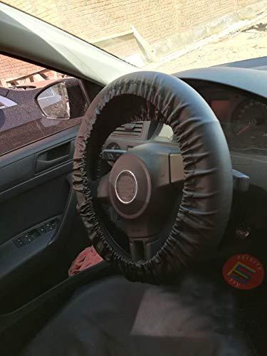 Auto Lenkrad Abdeckungs Schutz Borte auf dem Griff Plüsch Satz Schwamm Schutz Schwarz (Lenkrad-abdeckung Beheizbares)