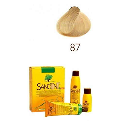 Cosal Sanotint Sensitive Tintura Colore Biondissimo Dorato Numero 87