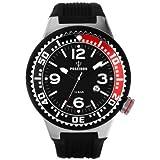 Kienzle Unisex-Armbanduhr POSEIDON S Analog Quarz Silikon K2103013053-00416