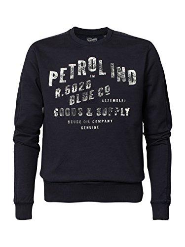 Petrol Industries Herren Sweatshirt M-FW17-SWR315 deep capri