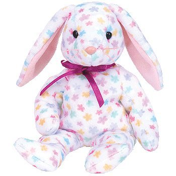SPRINGFIELD THE EASTER BUNNY RABBIT   TY BEANIE BABIES TOY