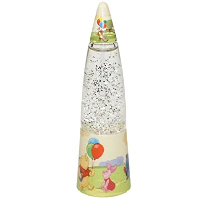 DISNEY WINNIE POOH Glitzerlampe mit Farbwechlser Nachtlicht Kinder Kinderzimmer Nachttischlampe von Disney bei Lampenhans.de