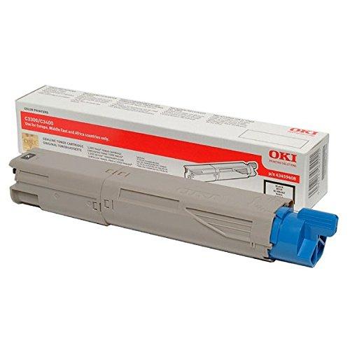 OKI Lasertoner/43459332 C3300 C3300,3400,3450,3600, schwarz