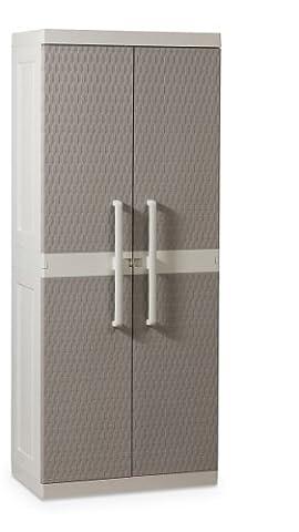 Toomax ART241 Armoire Haut 2 Portes + 4 Etagères +