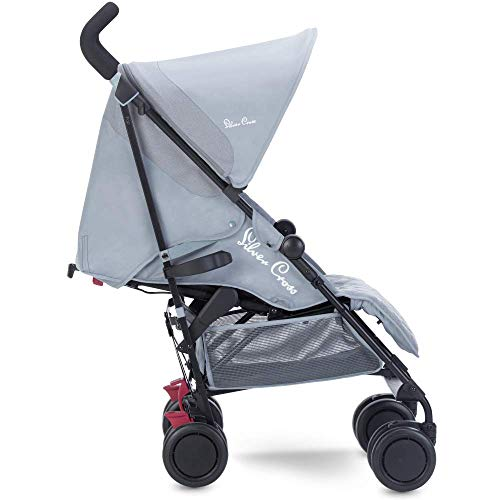 Silver Cross Pop Stroller, Compact and Lightweight Pushchair - Quarry
