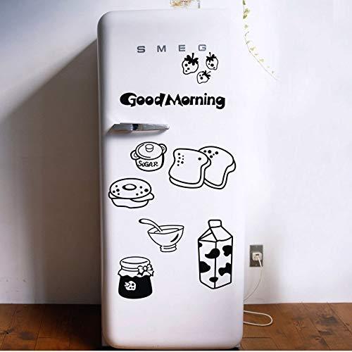 (Atiehua Wandtattoos Große Größe 150 X 85 Cm Kühlschrank Wandtattoos Vinyl Wasserdicht Aufkleber Küche Wand Dekor Abziehbilder)