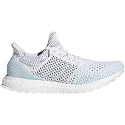 adidas Ultraboost Parley Ltd, Zapatillas de Entrenamiento para Hombre, Blanco Ftwwht/Bluspi, 41 2/3 EU
