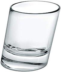 Idea Regalo - Pisa bicchierini 51gram/50ml-Confezione da 6| 5cl bicchierini, bicchierini angolati, inclinati shot GLASSES