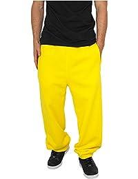 URBAN CLASSICS Sweatpants TB014B yellow 3XL