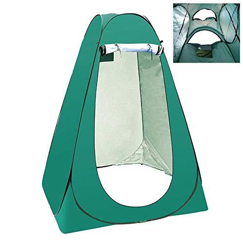 SUWIND Zelt für den Außenbereich, tragbar, für Privacy, für Kleidung, Dusche und Hygiene-Service, wasserdicht, Camping, faltbar, mit großer Tasche 1.5m Lake Green