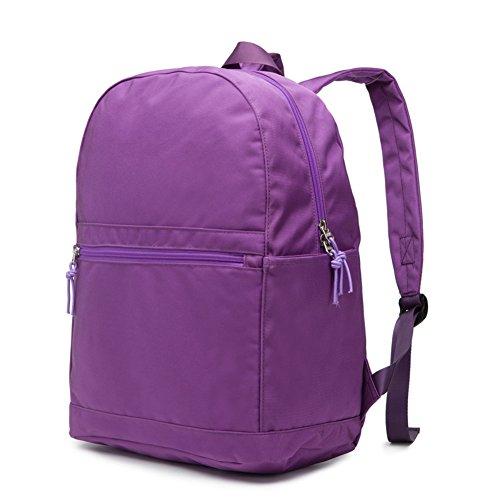 Sac à dos simple/sac pour hommes et femmes/Sac à dos de style Collège/Sac de voyage-G G