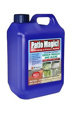 Patio Magic Green Mould and Algae Killer Liquid Concentrate Bottle