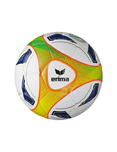 Erima Hybrid Lite 350 Fußball, weiß/Orange, 5