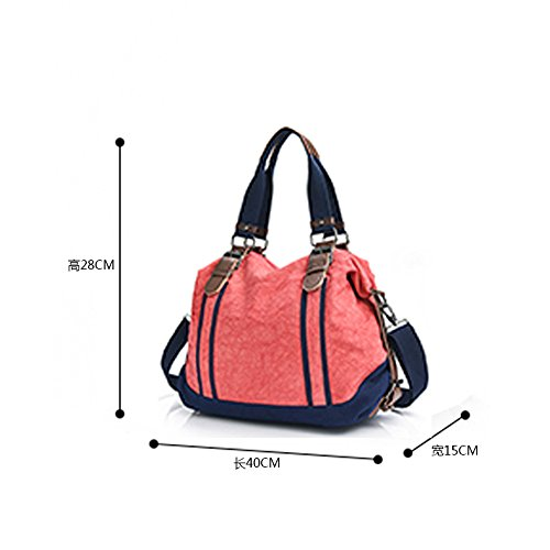 Wewod, Borsa a spalla donna X-Large Orange
