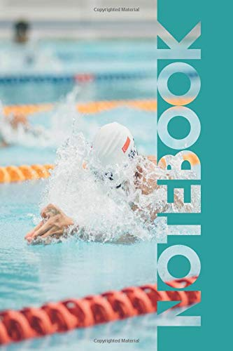 Notebook: Breaststroke Convenient Composition Notebook for Swimming Lessons Coach por Molly Elodie Rose
