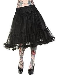 Rock Banned Tutu Petticoat Maxi-Girlie, Black