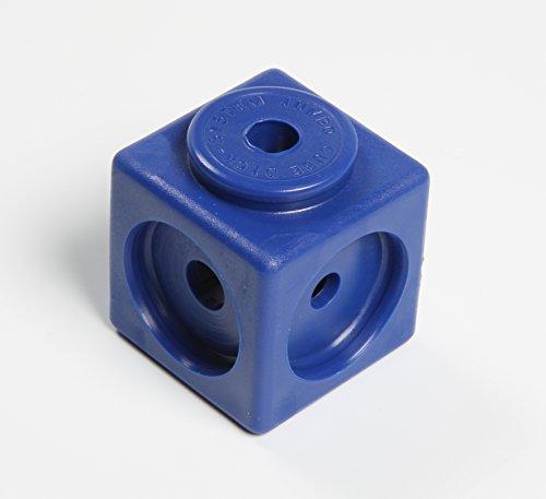 Dick-System 170100 100 Steckwürfel, 5 farbig