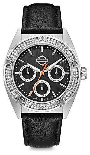 orologio solo tempo donna Harley Davidson sportivo cod. 76N102