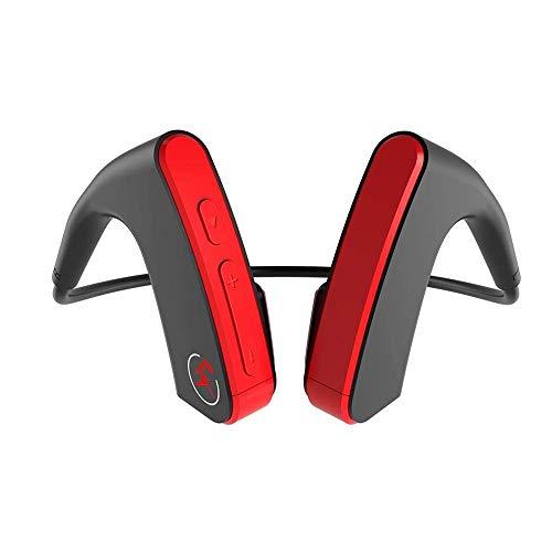 GZLMMY Original Z1 Auriculares de Diadema Abierta, Bluetooth 4.1, conducción ósea, Diadema para el Cuello, Manos Libres, inalámbricos, para Deportes, Compatible con Android e iOS