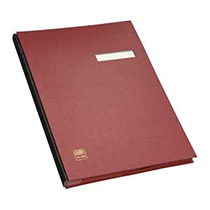 Elba 41403RO Signature Folder for DIN A4 PVC Red