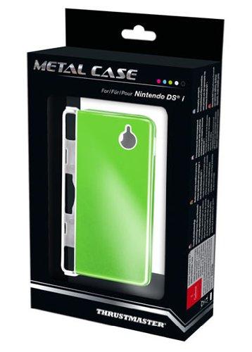 Thrustmaster Metal Case Natural Green f/ DSi - cajas de video juegos y accesorios (Verde, Metal/Plástico)
