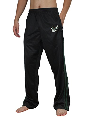 NCAA South Florida Bulls Herren Athletisch Warm Trainings-Übungs-Track Pants Schwarz