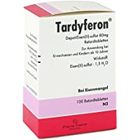 Tardyferon Retardtabletten, 100 St. preisvergleich bei billige-tabletten.eu