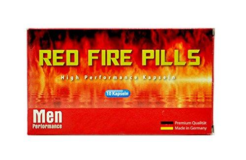 Red Fire Pills 20 Männer Kapseln I Männer-Stärkungs-Mittel I natürliches und rezeptfreies Präparat für den Mann I 100% Pflanzlich I Für Lust, Liebe, Leidenschaft und mehr … für mehr Spaß in der Beziehung