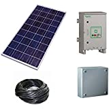 Solar PV Plant for 10HP 3Phase Pump