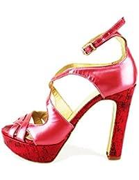 Scarpe donna TWIN-SET sandali rosa pelle AG70 zooode bianco Pelle Venta De Liquidación Barato Envío Libre Con Proveedor Más Grande Eastbay Venta En Línea V9xbm