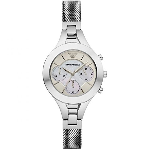 Armani Reloj de pulsera AR7389 Color plateado Mujer