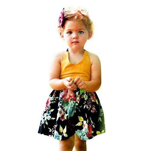 Malloom® Schmetterling Flügel Schal Schals Damen Nymphe Pixie Poncho Kostüm Zubehör Bluse Rock Baby Mädchen Infant Kinder Floral Tutu Straps Backless Kleidung Prinzessin Kleid (gelb, 80) (Pixie Tutu)